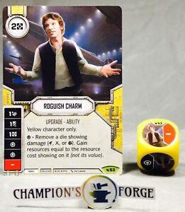 Greedo #21 Legendary Yellow Character Star Wars Destiny Legacies