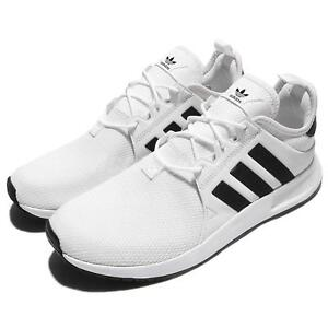 adidas Originals X PLR White Black Men Running Shoes Sneakers ... 3e0b099ccc6