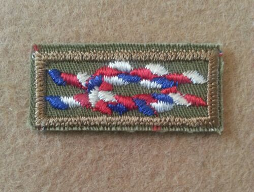 1947~1983 TYPE K-C01 BOY SCOUT EAGLE SCOUT AWARD Knot PLASTIC NEW A01075