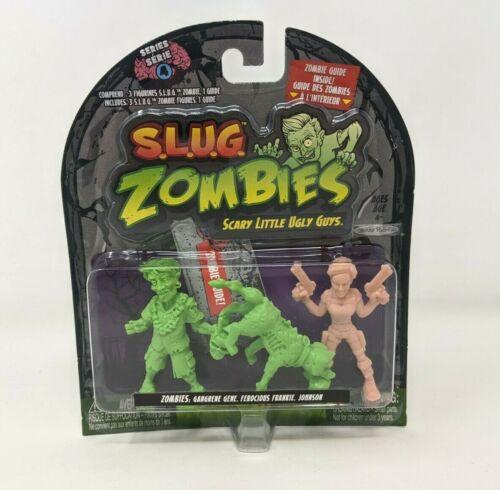 Nouveau Jakks Slug Zombies Series 4 Figures Toy Set Gene Frankie Johnson FP20