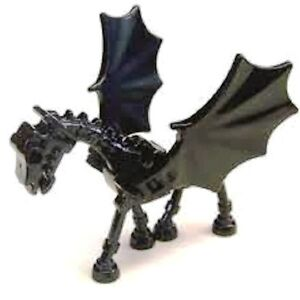 Temp-N318A-Lego-Harry-Potter-Thestral-Skeleton-Horse-with-Wing-Black-5378-NEW