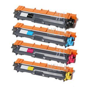 4PK TN221 TN225 Color Toner for Brother HL-3140CW HL-3170CDW MFC-9130CW 9330CDW