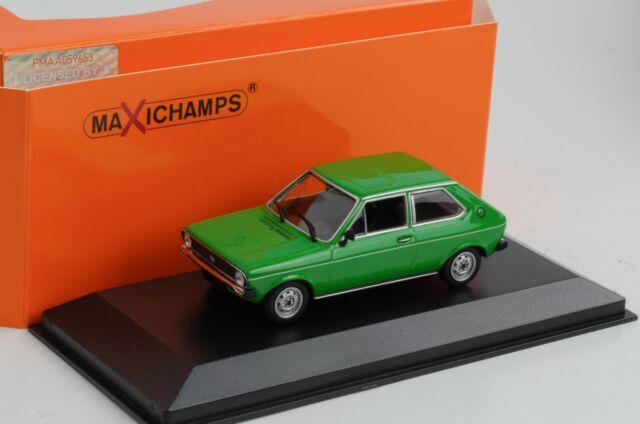 Polo VW Volkswagen 1979 Green Diecast 1:43 Minichamps