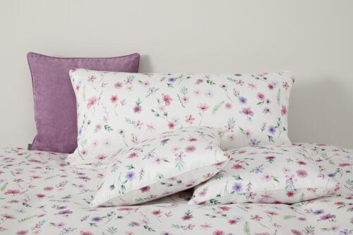 yes for bed Bettwäsche WILD Flowers 779-1 Rose 100/% Baumwolle 135x200 cm Sale