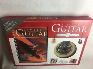 Simply Guitar Box Set 64 Page Book & DVD, learn to play guitar 48- min lesson