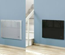 NETTA Electric Glass Free Standing Wall Mounted Heating Panel Heater Radiator