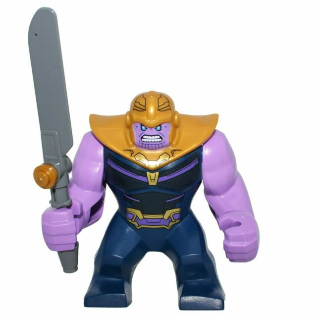 Genuine LEGO THANOS Big Figure MARVEL Guardians of the Galaxy Infinity War Sword