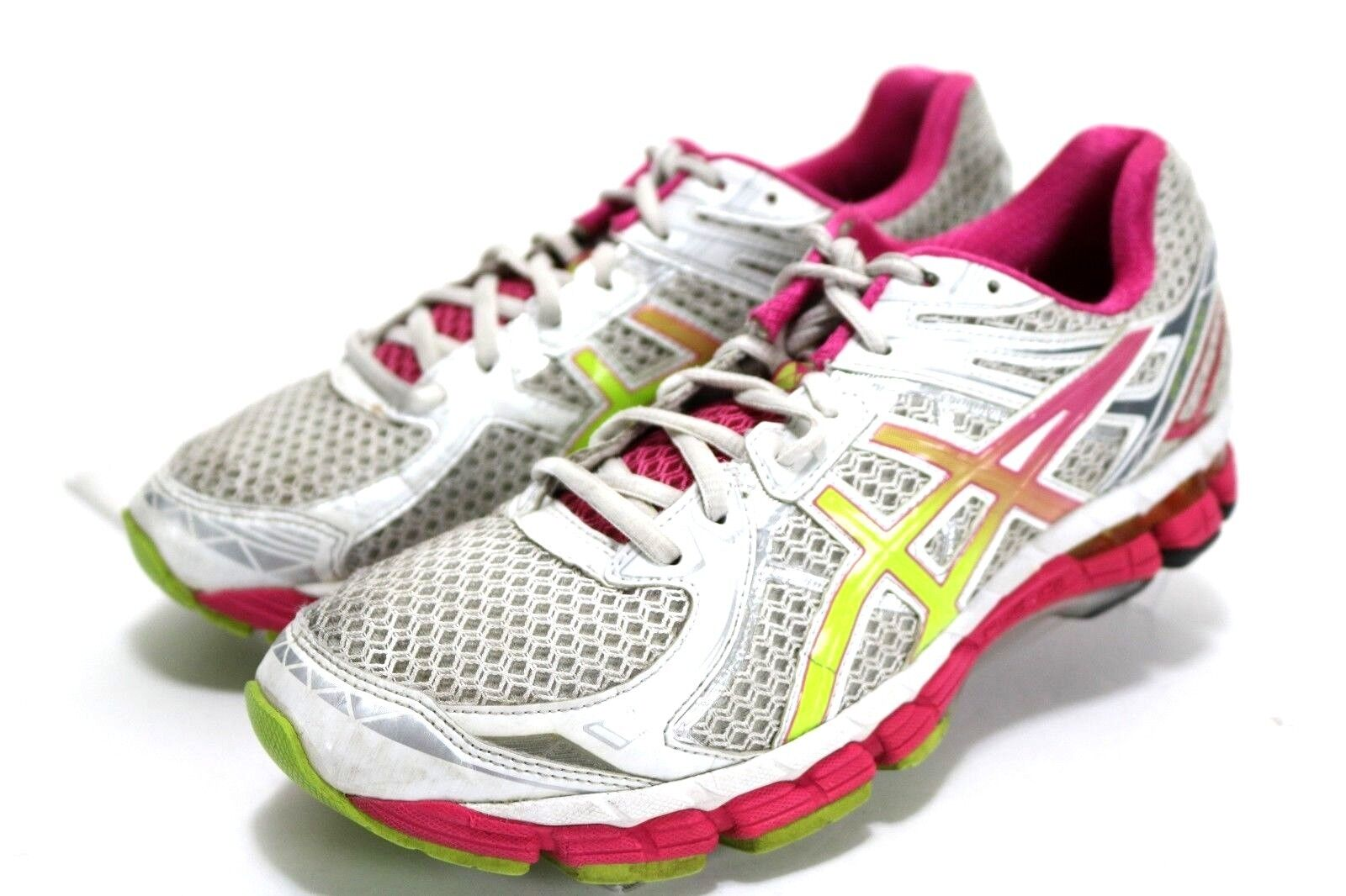 ASICS GT 2000 2  Women's Lace-Up Running shoes Size 10.5 White Pink