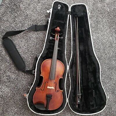 3/4 Size Strobel Violin Includes Bow And Case. Beautiful Condition And Sound