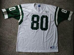 0b283656 Details about VTG Champion WAYNE CHREBET Men's XL 48 Jersey FLAWLESS New  York Jets NFL 90's