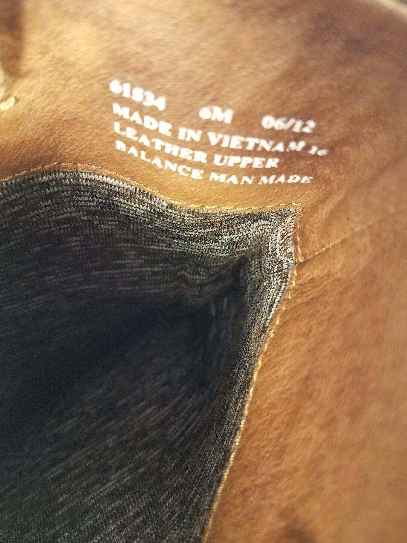 Tamaño nos 6 M marrón Gamuza botas De Gamuza marrón Clarks Originals Equitación Ecuestre Como Nuevo 66921a