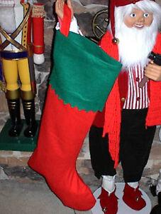 image is loading large giant christmas santa stocking 40 inch great - Giant Christmas Stocking