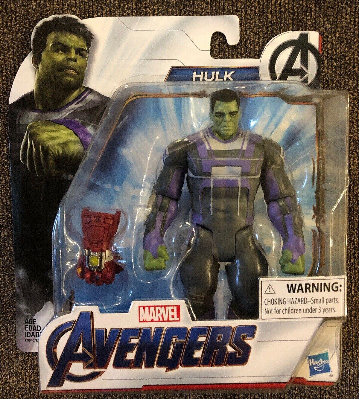 Hasbro Marvel Avengers Endgame Hulk With guantlet Figure Action Figures
