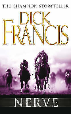 """AS NEW"" Francis, Dick, Nerve, Paperback Book"