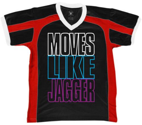 Moves Like Jagger Mainstream Popular Music Dance Retro Sport T-shirt