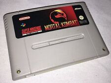 Mortal Kombat: - SNES Super Nintendo Juego-PAL A UKV