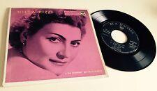 """RARE EP 7"""" NILLA PIZZI 1957 RCA ITALIANA A72V-0019 ARMANDO TROVAJOLI LA SPAGNOLA"""
