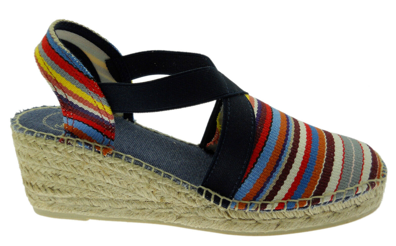 Toni PonsTARBES multicolord striped espadrilles Toni Pons