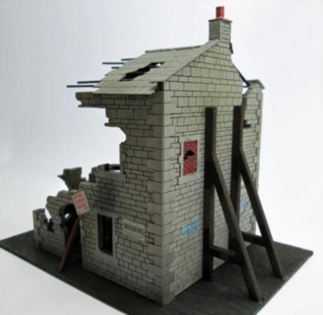 Ancorton 95794 OO Gauge Ruined House Kit
