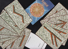 RUNEN Karten - Holitzka, Nordische Weisheit -  24 Runen Karten des Futhark