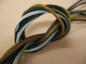 """Rawhide Leather Lace 72/"""" X 1//8/"""" Boat Shoelaces,Hiking Boot Laces 1 Pair 2 Laces"""