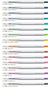 16-Colors-Set-Uni-Ball-Style-Fit-Signo-UMN-139-0-38mm-Rollerball-Gel-Ink-Pen