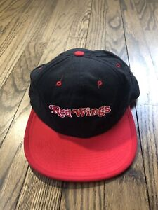 NWT-Vtg-Pro-Layer-Reversible-Mens-Detroit-Red-Wings-Hockey-Snapback-Hat-Cap