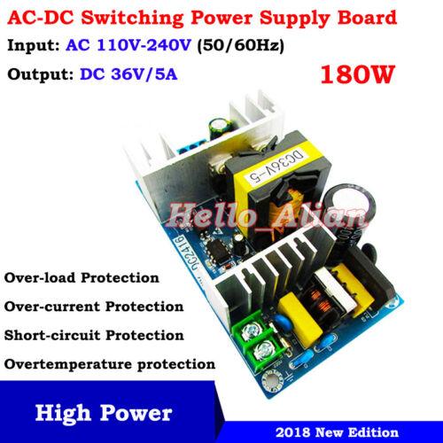 AC-DC Converter 110V 220V 230V to DC 36V 5A Isolated Switching Power Transformer