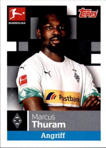 Marcus Thuram TOPPS Bundesliga 2019//2020 Sticker 209