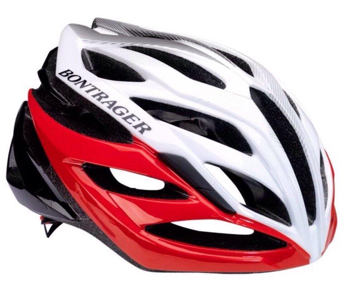 Bontrager Circuit 51cm-57cm White Red Helmet