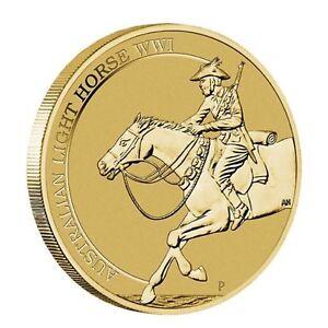 2017-Australian-Light-Horse-WWI-Centenary-1-One-Dollar-Unc-Coin-Perth-Mint