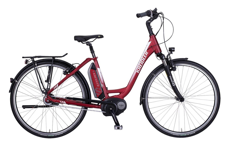 E-BIKE Kreidler Vitality Eco 6 rot Mittelmotor Model Bosch Model Mittelmotor 2017 bis zu 180 km 98e802