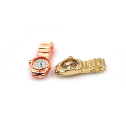 1:12 Miniatur-Uhr mehrere Farben Puppenhaus Dekor Zubehör Kinder Toy Gut 4H