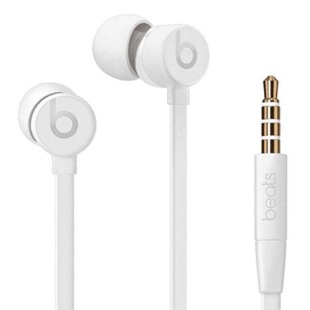 Beats By Dr Dre Urbeats3 Earphones With 3 5mm Plug White For Sale Online Ebay