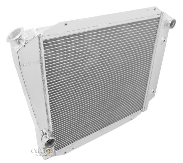1966-1977 Ford Bronco with Chevy config Aluminum 4 Row Champion Radiator
