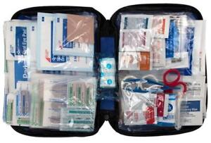 First Aid Only 299 Piece Kit All Purpose Soft Case Emergency Home Travel Hiking