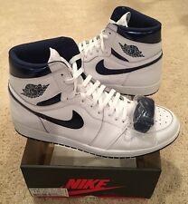 d93c564a07f item 2 Nike Air Jordan Retro 1 High OG Metallic Blue White Midnight Navy  Size 15 -Nike Air Jordan Retro 1 High OG Metallic Blue White Midnight Navy  Size 15