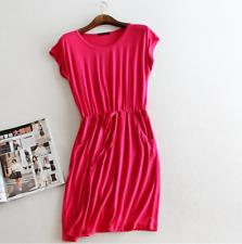 fb3f054ce88 Music Legs womens Seamless Pothole Tube Mini Dress Hot Pink One Size 6158