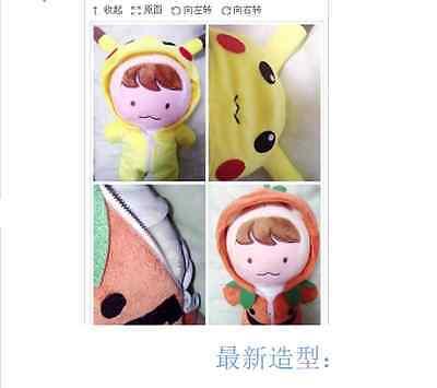 Kpop EXO XOXO Planet #2 Chanyeol Park Dolls Coat Sweater Xmas Figures Clothing