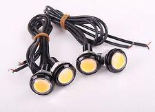 4 x Amber LED Eagle Eye Bulbs Backup LED Daytime Light license plate light 3W