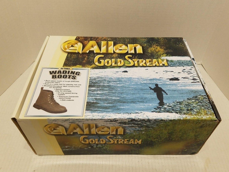 Allen gold Stream 15611 AU SABLE Wading Boots Size 11