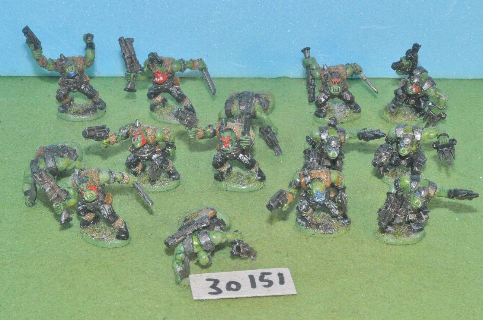 14 14 14 Orc Boys Gorka Morka 40k (30151) WARHAMMER e899a6