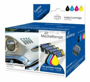 MEDIARANGE-MRET89-Cartucce-inchiostro-per-Epson-Serie-T0891-T0894-con-chip