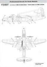 Foxbot Decals 1/72 DOUGLAS A-20 BOSTON STENCILS