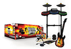 Guitar Hero World Tour Nintendo Wii Complete Band Game Set Bundle