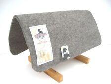 Filzunterlage aus echtem Wollfilz Padschoner grau für Westernpad