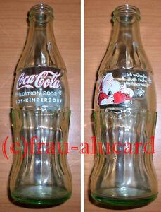 Coca Cola Glas Flasche SOS KINDERDORF EDITION 2002 Weihnachten 0,25 L / rar - Berlin, Deutschland - Coca Cola Glas Flasche SOS KINDERDORF EDITION 2002 Weihnachten 0,25 L / rar - Berlin, Deutschland