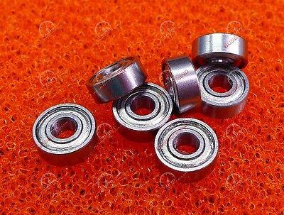 7mm*11mm*3mm 10 pcs MR117zz Mini Metal Double Shielded  Ball Bearings