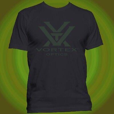 Vortex Optics Hunting AR Rifle Scope Sights Long Sleeve Black T-shirt Size S-5XL