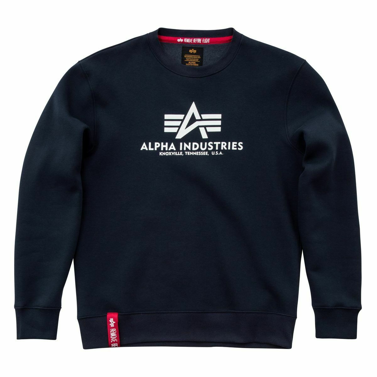 Alpha Industries Basic Sweater Hoodies / Sweatshirts Navy